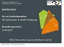 Sozialstipendium WS 2017/18