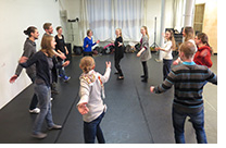 Workshop im Theater Bielefeld
